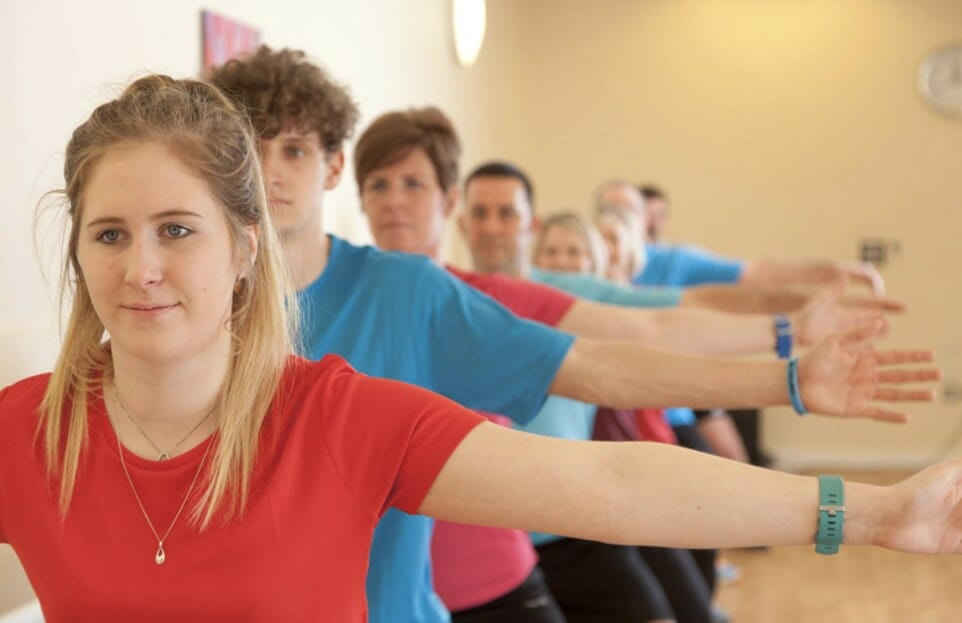 BARRE EXERCISE CLASS | POINT4 GYM HEREFORD